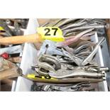 ASSORTED VISE GRIP CLAMPS
