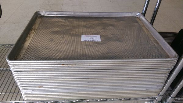 Lot 43 - 24 Perforated Bakers Sheets