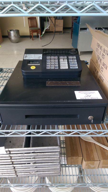 Lot 26 - Casio Cash Register with keys