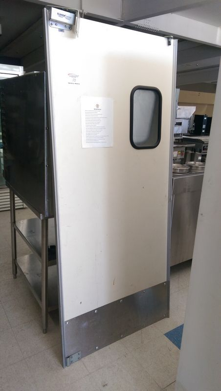 """Lot 10 - 78 x 35"""" Kitchen Crash Door"""