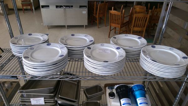 "Lot 46 - 60 - 11"" Round Dinner Plates"