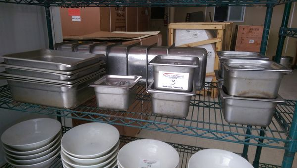 Lot 3 - 20 Assorted Stainless Steel Inserts