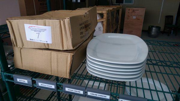 "Lot 7 - 18 New 14"" Platters"
