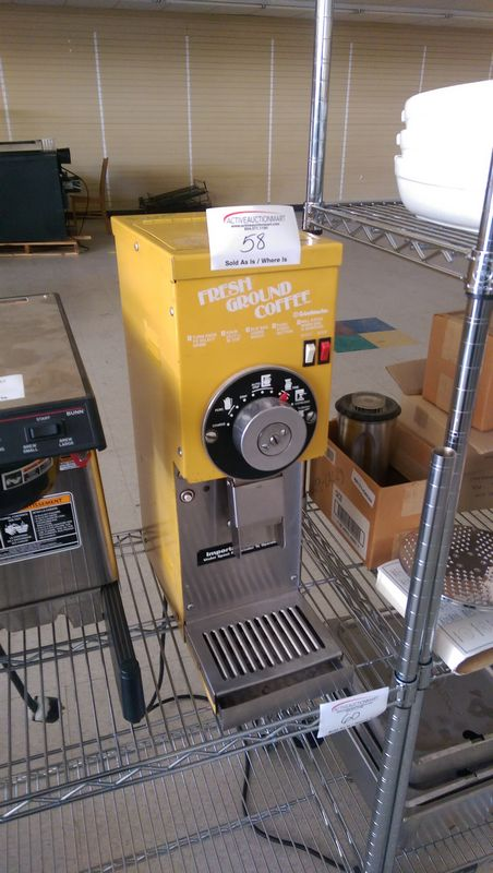 Lot 58 - Grindmaster Coffee Grinder