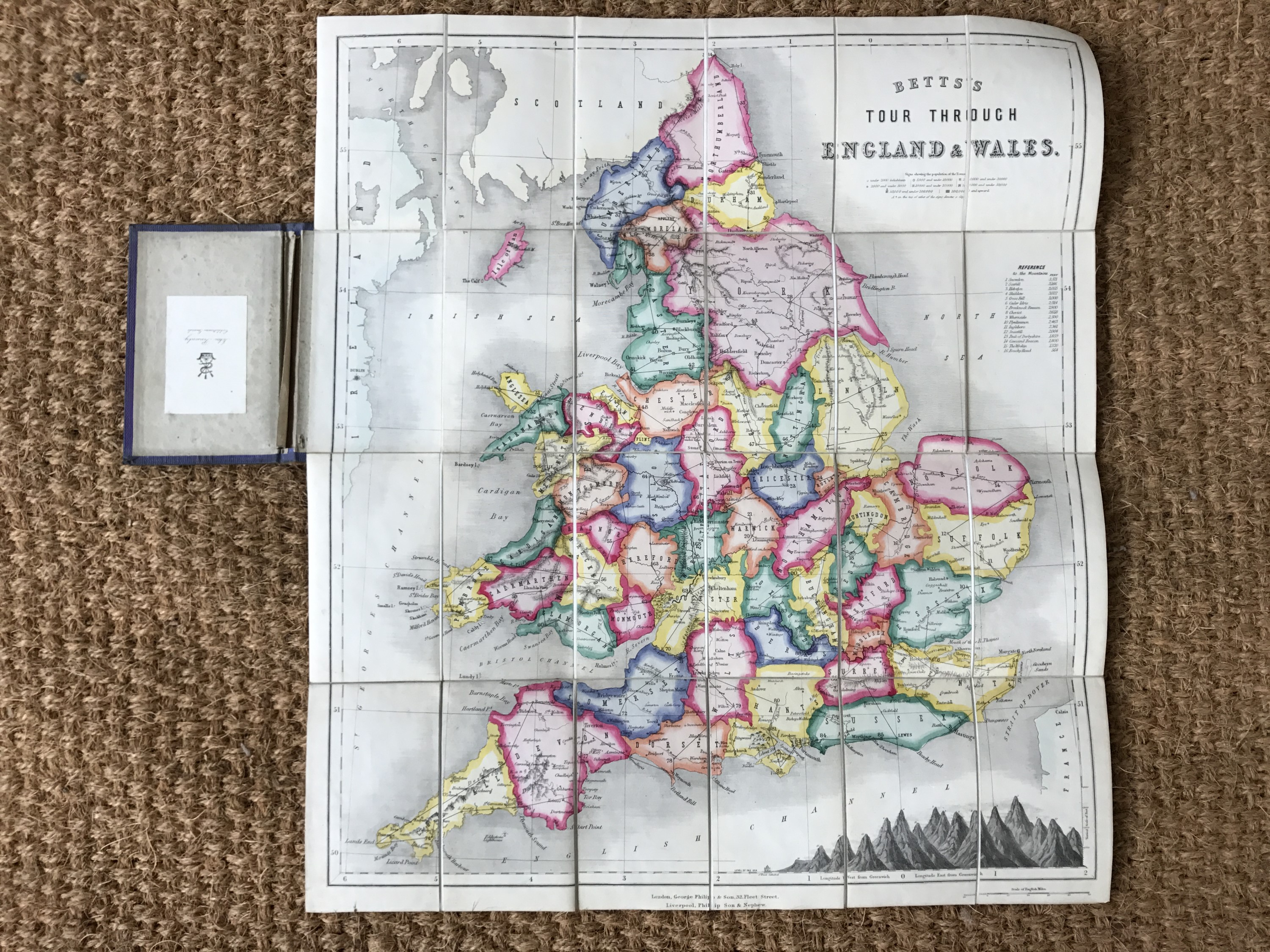 Lot 39 - Betts, John, Betts's , George Philip & Son, London, n.d, circa 1860, game map of the counties,