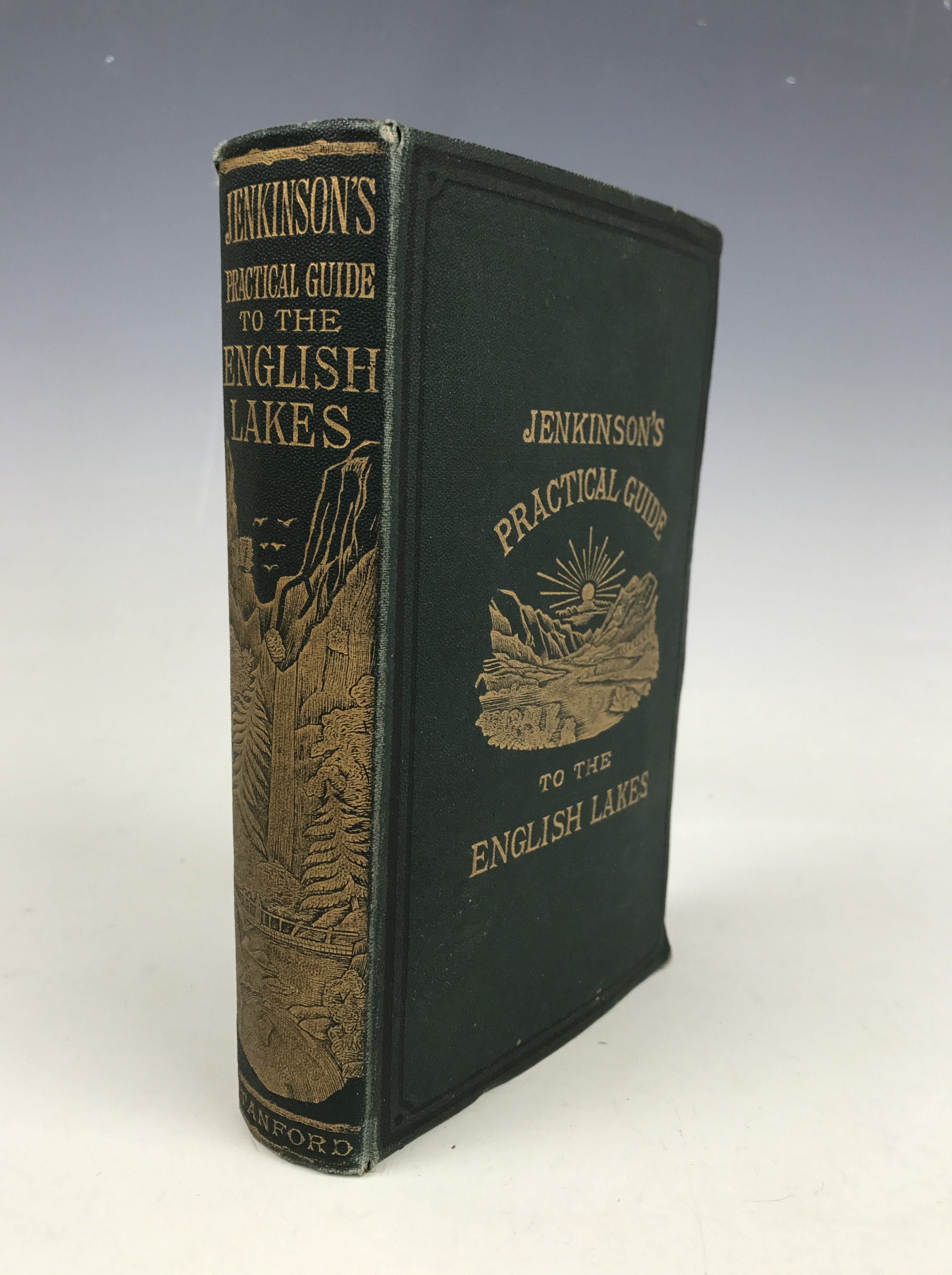 Lot 42 - Henry Irwin Jenkinson, Practical Guide to the English Lake District, Edward Stanford, 1881