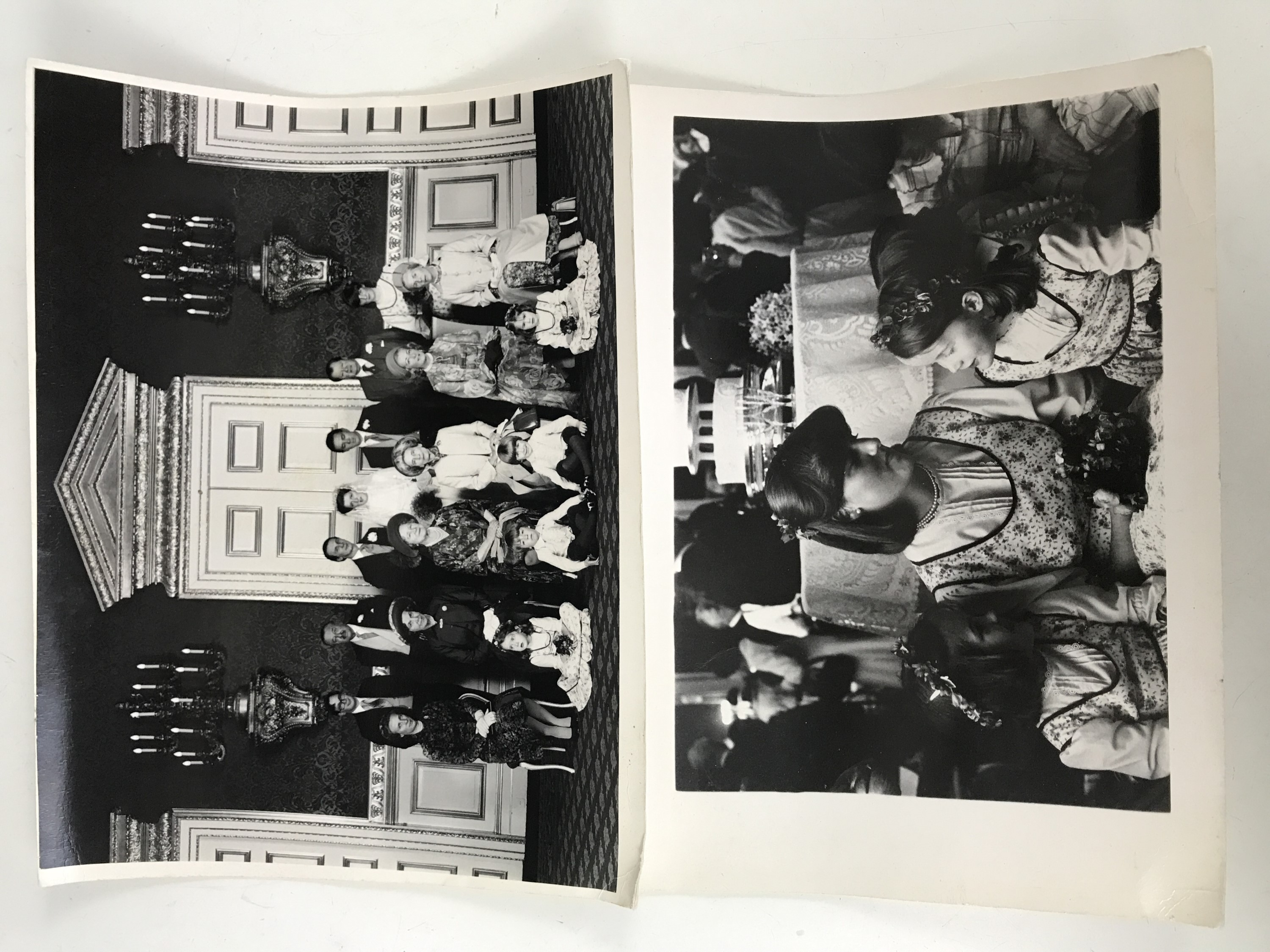 Lot 47 - [Diana, Princess of Wales 1961-1997] Two monochrome photographs of Lady Diana Spencer, later the