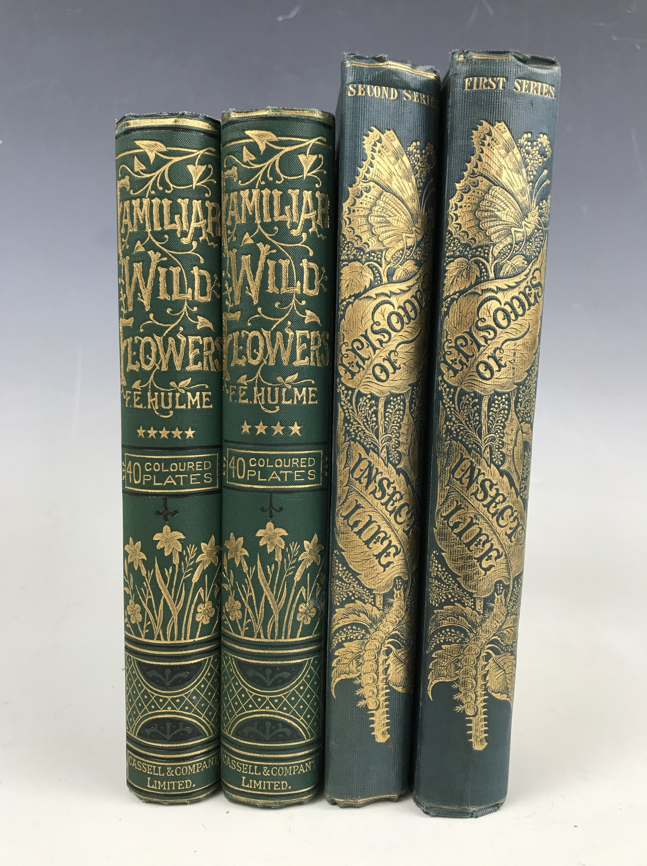 Lot 43 - Acheta Domestica, Episodes of Insect Life, Reeve, Benham, and Reeve, Strand, 1849, 8vo, gilt