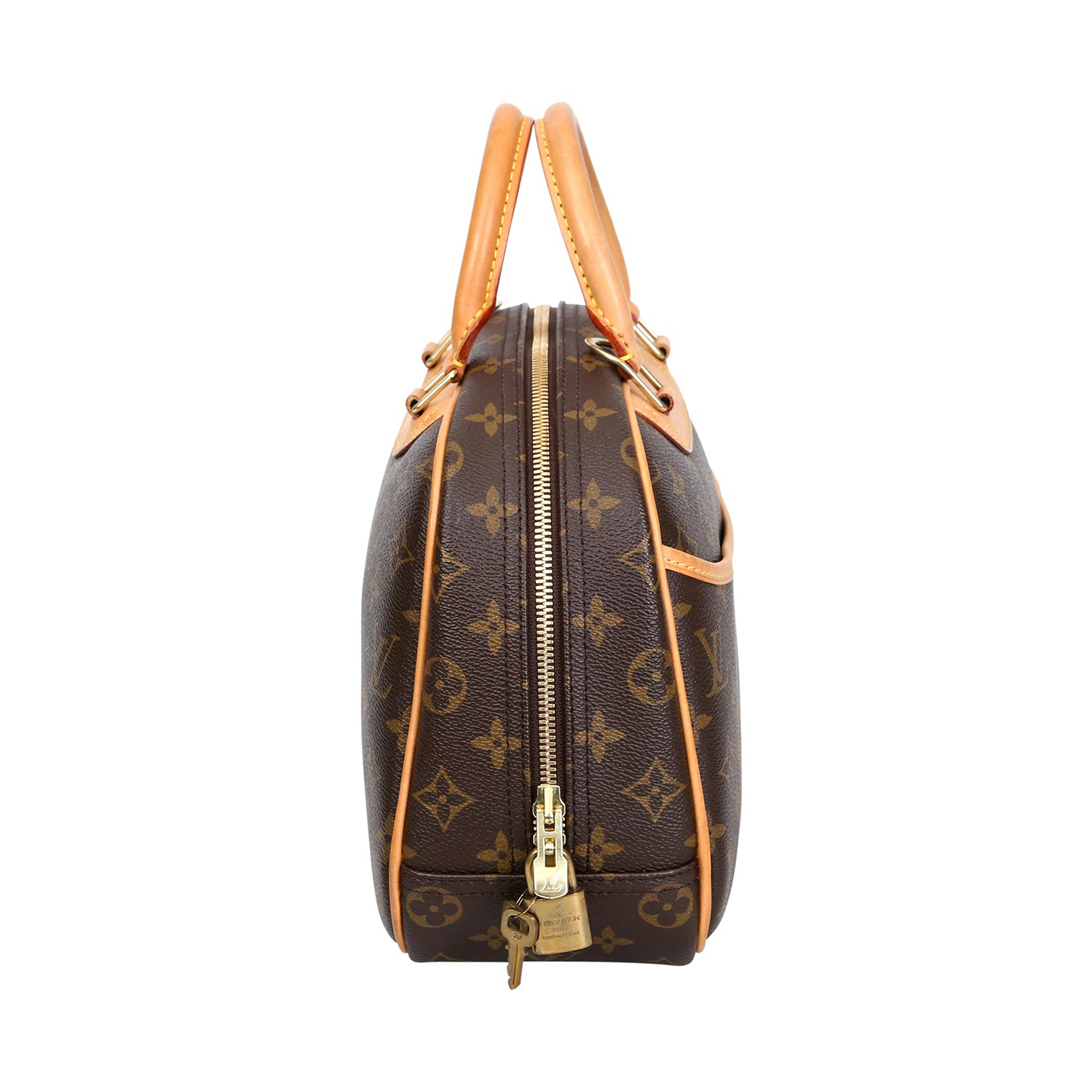 "Lot 11 - LOUIS VUITTON Henkeltasche ""TROUVILLE"", Koll.: 2005.Monogram Canvas Serie, als Kosmetik-Tasche"