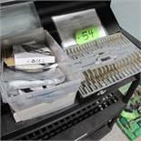 MASTERCRAFT MAXIMUM TAP AND DIE SET W/1 BOX OF LED LIGHTS (UPPER TOOL CRIB)