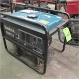 MAKITA EG 301A GAS POWERED GENERATOR RIDGID 700 POWER WRENCH W/CART/FOOT PEDAL CONTROL (UPPER TOOL C