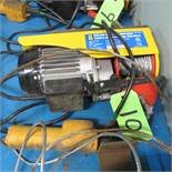 POWER FIST 440LB ELECTRIC CABLE HOIST 8041840, 12V W/PEDANT CONTROL (UPPER TOOL CRIB)