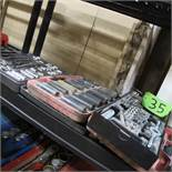 LOT OF 2 SOCKET SETS AND 1 TAP AND DIE SET (UPPER TOOL CRIB)