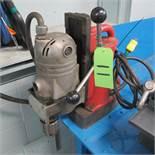 MILWAUKEE ELECTRO MAGNETIC DRILL PRESS, CAT NO 420, 120V (UPPER TOOL CRIB)