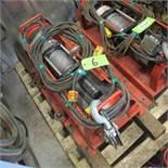 DAYTON 3V172 ELECTRIC WINCH (2000LB CAP) (UPPER TOOL CRIB)