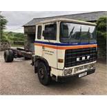 1979 ERF B Series 4x2 Rigid Chassis Cab Lorry NO VAT