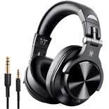 Boxed Brand New Pair One Audio Fusion A70 Black Wireless DJ Headphones RRP £45