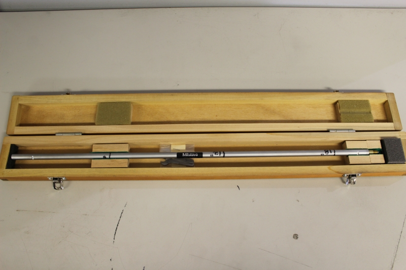 """Lot 39 - 18"""" Mitutoyo Extention Rod"""