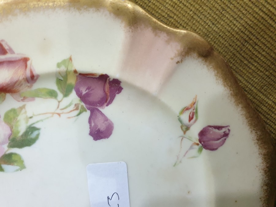 Hammersley & Co. porcelain part tea-service, 20th century, printed green marks, pattern no. 13631, - Image 3 of 24