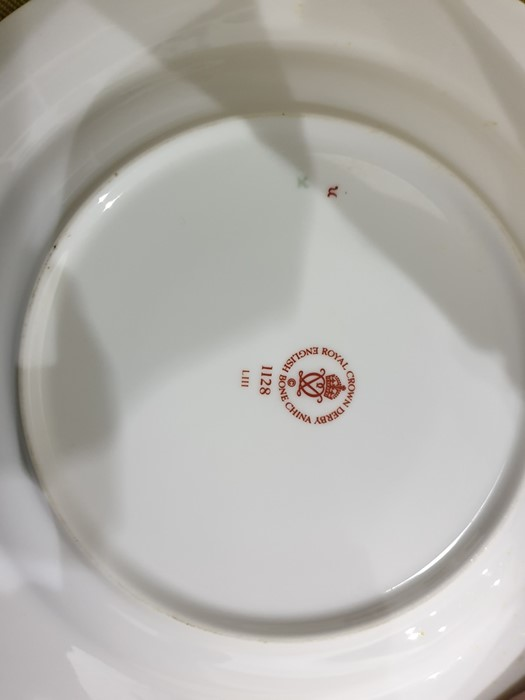 Royal Crown Derby Imari pattern part tea-service, 20th century, printed crowned iron-red marks, - Image 28 of 32