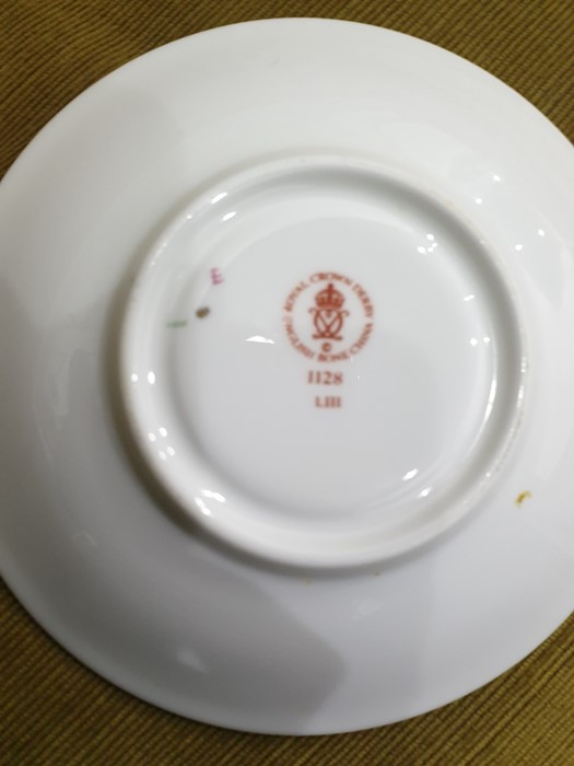 Royal Crown Derby Imari pattern part tea-service, 20th century, printed crowned iron-red marks, - Image 20 of 32