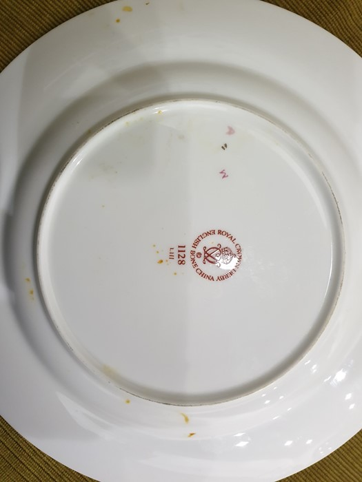 Royal Crown Derby Imari pattern part tea-service, 20th century, printed crowned iron-red marks, - Image 15 of 32