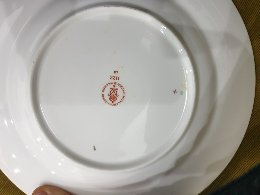 Royal Crown Derby Imari pattern part tea-service, 20th century, printed crowned iron-red marks, - Image 27 of 32