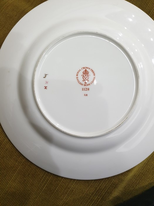 Royal Crown Derby Imari pattern part tea-service, 20th century, printed crowned iron-red marks, - Image 19 of 32