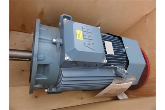 NEW ABB 30HP Electric Motor, Make:ABB, Model: 3GAA181031-ADG