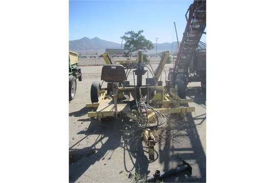 Quality Welding Service Inc. Model Dirt Works Tree Spade , Serial ...