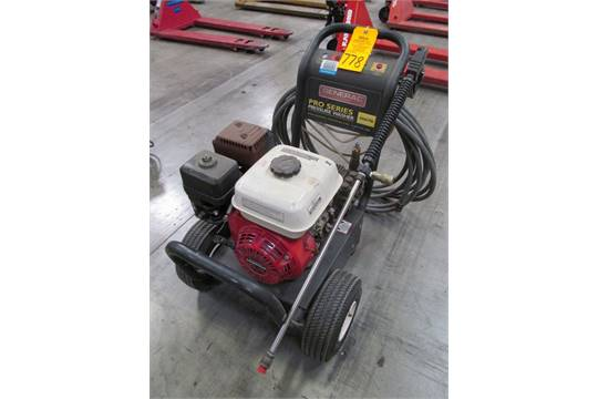 Generac Model 01417-1 Pro Series Pressure Washer , Serial