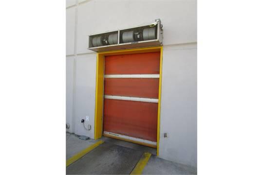 Albany 6u0027 X 8.5u0027 Automated Roll Up Door , , With Power Box, Control Box And  Motor. Door Is 6u0027W X