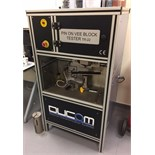Lot 11 - 1 x Ducom TR22 Pin and Vee Block Tester - Used to Evaluate Wear Preventive and Load Carrying