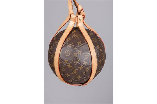 db7c9353034 LOUIS VUITTON. A limited edition of SOCCER BALL for the France 1998 ...