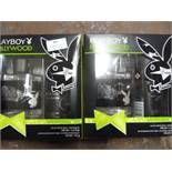 """*Two Playboy """"Hollywood"""" Gift Sets"""