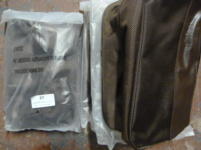 Lot 27 - *Four Mens Toiletry Bags