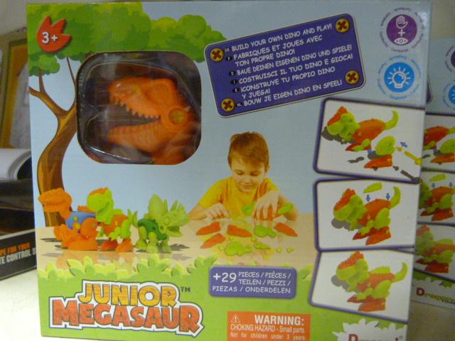 Lot 206 - *Junior Megasaw Build Your own Dino