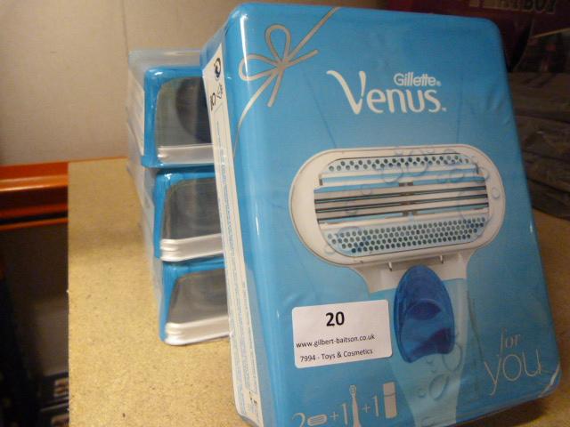 Lot 20 - *Four Gillette Venus Ladies Shaving Sets