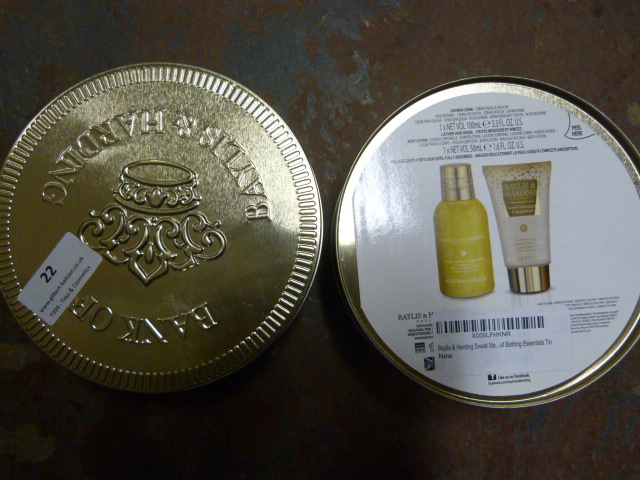 Lot 22 - *Two Baylis & Harding Gift Boxes
