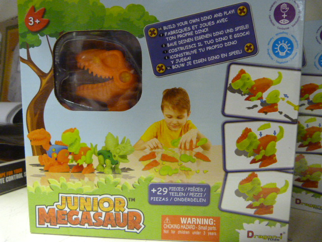 *Junior Megasaw Build Your own Dino