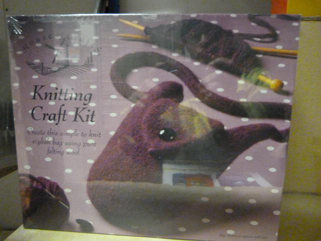 Lot 59 - *Two Knitting Craft Kits