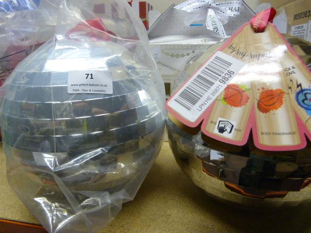 Lot 71 - *Two Impulse Glitter Balls