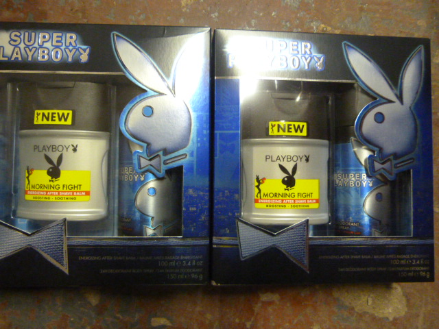 Lot 35 - *Two Playboy Gift Sets