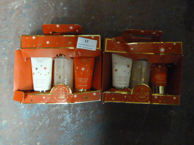 Lot 17 - *Two Grace Cole Gift Sets