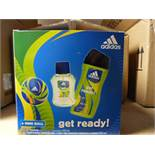 """*Box of Six Adidas """"Get Ready"""" Shower Gift Sets"""