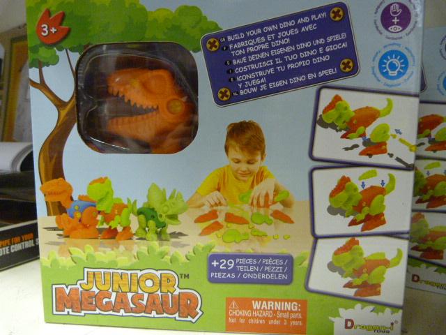 Lot 210 - *Junior Megasaw Build Your own Dino