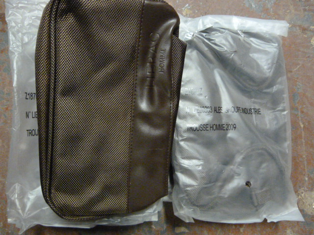 Lot 30 - *Four Mens Toiletry Bags