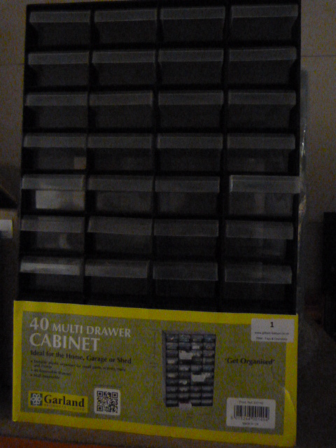 Lot 1 - *Plastic 40 Drawer Cabinet