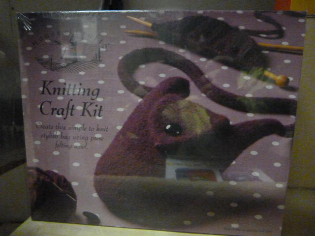 Lot 58 - *Two Knitting Craft Kits