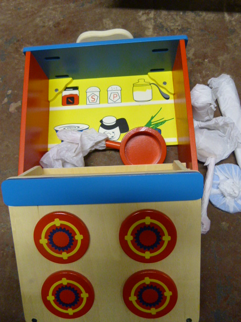 Lot 135 - *Wooden Play Kitchen